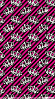 Girly crowns on pink iphone wallpaper background iphone wallpaper / backgro Cool Wallpapers For Phones, Cute Wallpaper For Phone, Free Iphone Wallpaper, Iphone Wallpaper Tumblr Aesthetic, More Wallpaper, Cute Wallpaper Backgrounds, Cellphone Wallpaper, Pretty Wallpapers, Pattern Wallpaper
