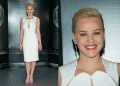 Abbie Cornish In Philip Armstrong - 'RoboCop' LA Photocall. Re-tweet and favorite it here: https://twitter.com/MyFashBlog/status/426550958315679744/photo/1