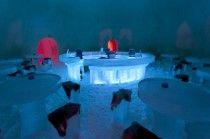 Icebar at Arctic SnowHotel, Rovaniemi, Lapland, Finland