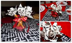 "Invite and Delight: Black, White, and ""Read"" All Over - Crossword Puzzle Party"