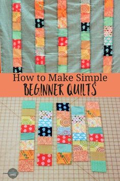 I don't know about you, but I love sewing for Easter. Here's not one bunny sewing pattern, but 20 free sewing patterns Bonnie Hunter, Quilting For Beginners, Sewing Projects For Beginners, Beginner Quilting, Beginner Quilt Patterns, Quilting By Hand, How To Hand Quilt, Sewing Machine Quilting, Sewing Machine Projects