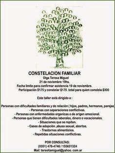 PORTAL TERAPIAS CORDOBA: CONSTELACION FAMILIAR  CON       Olga Teresa Migue...
