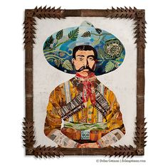 Dolan Geiman's salvaged wood and found object paintings: | 10 Awesome Examples Of Art Made With Unconventional Materials