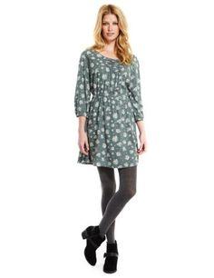 Indigo Collection Floral Dress-Marks & Spencer