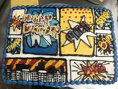 Comic Book Cake Sugar, Young Adults, Cookies, Comic Book, Desserts, Teen, Food, Biscuits, Meal
