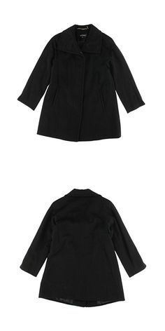 Ellen Tracy Womens Petites Wool Raglan Sleeves Coat Black 4 Bell Sleeves, Bell Sleeve Top, Casual Jackets, Ellen Tracy, Wool, Womens Fashion, Black, Black People, Women's Fashion
