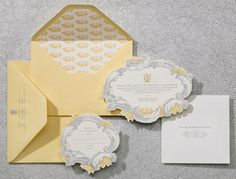 Formal Grapevine Victorian Frame, wedding invitations ideas and trends guest bloggers