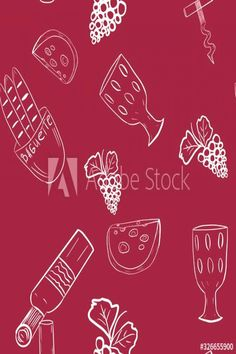 #Bordeaux #pattern #design Seamless pattern with white wine theme elements on dark redbordeaux background Wine bottle glass grapes cheese baguette corkscrew outline hand drawing Print packaging wallpaper design brp classfirstletterThe ultimate current page sharing about drawingpSeamless pattern with white wine theme elements on dark redbordeaux background Wine bottle glass pins are as aesthetic and useful as you can use them for decorative purposes at any time and add them to your website or… Boys Room Design, Cards For Boyfriend, Print Packaging, Photo Craft, Designer Wallpaper, Baguette, Dark Red, White Wine, Bordeaux