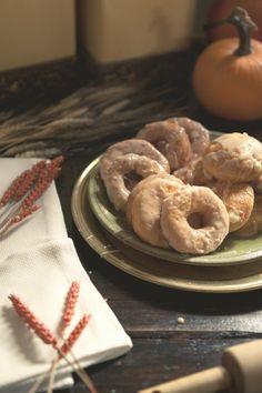 Pumpkin Spice Doughnuts. #Westervin