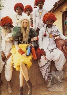 For more ethnic style and tribal fashion visit: http://www.wandering-threads.com/  GEMMA WARD