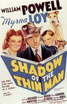 Shadow of the Thin Man 11x17 Movie Poster (1941)