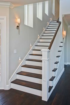 images for white wood staircases - Google Search