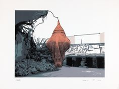 Art / Kunst, Print, Printmaking, Grafik, Druckgrafik, Artist/Künstler: Susanne Piotter, Title/Titel: Kokon-3, Technique/Technik: Screenprint / Siebdruck, Price/Preis: 540,- €