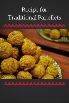 Panellets are a traditional sweet of All Saints Day in Barcelona and Catalonia. Learn how to make them with this traditional recipe for panellets! Spanish Desserts, Spanish Cuisine, Spanish Food, Yummy Treats, Delicious Desserts, Yummy Food, Pastry Recipes, Foodie Travel, Street Food