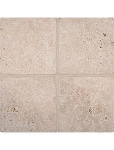 """6"""" x 6"""" Tuscany Classic Field Travertine Tile in Tumbled Beige Ivory Finish #Tuscany_Classic #Travertine_Tile #Travertine_Mosaic_Tile"""