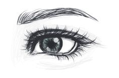 I wish I could draw eyes like this!