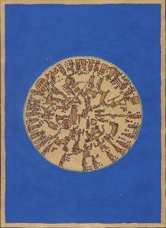 Dendarai zodiákus. A közismert egyiptomi zodiákusábrázolás inspirálta, 2010 aug