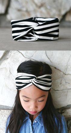DIY turban headband