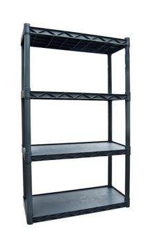 Walmart Utility Shelves Sterilite 5Shelf Shelving Unit Light Platinum  Walmart