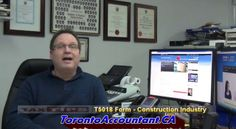In the Construction Industry in Canada and using subcontract workers then you should be filing the Form. Watch this Video which explains more about it and the penalties for not filing. Filing, Industrial, Canada, Construction, Watch, Videos, Tips, Building, Clock