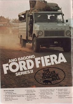 Ford Fiera ad. Philippines. Philippines Culture, Manila Philippines, Vintage Comics, Vintage Ads, Happy Birthday Man, Filipino Culture, Ford Classic Cars, Old Ads, My Childhood Memories