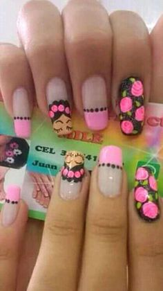 Classy Nails, Stylish Nails, Hot Nails, Hair And Nails, Nail Polish Designs, Nail Art Designs, Nail Art Printer, Natural Nail Art, Finger