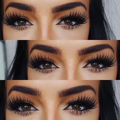Look at those lashes!