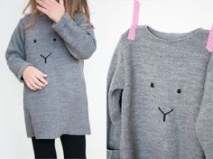 DIY bunny sweater by Pastill.nu
