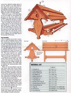 #660 Bird Feeder Plans - Outdoor Plans