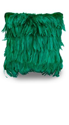 Exotic Luxury Emerald Green Feather Pillow, Trending Hollywood Interior Design Ideas, For Luxury Homes, Living Rooms, Bedrooms, Dining Rooms, Bathrooms. Over 3,500 Luxury Furniture, Lighting, Home Decor, Accents & Gift Inspirations to enjoy, pin, blog, share and inspire your friends and followers with, courtesy of InStyle Decor Beverly Hills with our easy 1 Click Pinterest Pin Button enjoy & happy pinning