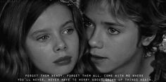 peter pan Lost Girl, Lost Boys, Tv Quotes, Movie Quotes, Movies Showing, Movies And Tv Shows, Jeremy Sumpter Peter Pan, Peter Pan 2003, Peter And Wendy