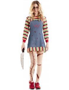 Disfraz de Chucky Poseído para Mujer