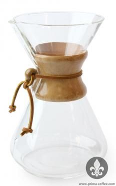 Chemex Classic Series Glass Coffeemaker, 10 cup capacity