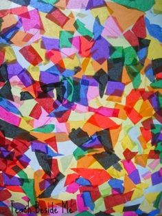 Rainbow Craft for Kids- Stained Glass
