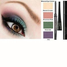 Get this awesome Mary Kay look using our Mineral Eye Colors! As a Mary Kay beauty consultant I can help you, please let me know what you would like or need. www.marykay.com/krichey2