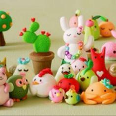 Polymer clay polymer-clay-creations