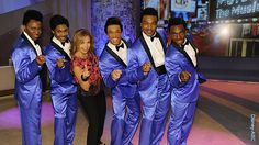 """A performance """"Motown the Musical"""" guests on the Katie Couric show 6-7-13"""