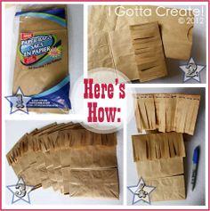 I Gotta Create!: Western Fringe Popcorn Bag Tutorial #diy #craft