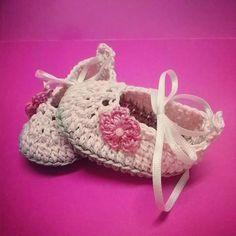 Zapatillas Rosa #AlanaCreaciones