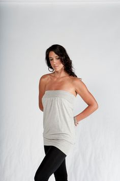 Hey, I found this really awesome Etsy listing at http://www.etsy.com/listing/94279486/relaxed-strapless-shirt-womens-top