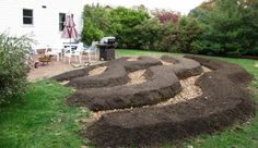 Contour gardens harvest rainwater from your landscape.