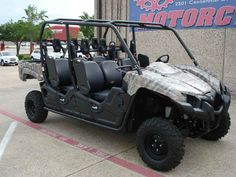 New 2016 Yamaha Viking VI EPS Camo ATVs For Sale in Texas. 2016 Yamaha Viking VI EPS Camo, The industry's only true six passenger cabin - TACKLING TOUGH TERRAIN PARTY OF SIX The quieter and smoother riding Viking VI EPS offers up superior comfort, convenience, off-road capability and the industry's only true six passenger cabin. Available from November 2015 Arlington Motorsports is a located on major freeway HWY 360 between Dallas and Fort Worth Texas in the middle of the Metroplex. 1 mile…