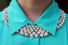 I like the width and solidity of this necklace and paired with a collared shirt. I guess I know how to wear a shirt   closed to the top!