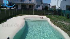 Fotos de piscinas de arena FOTOGRAFIAS PROYECTOS. Hace realidad el sueño de tener la playa en tu casa. Elegí tu diseño de piletas de arena. Diseños.