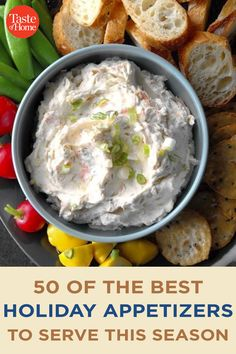50 of the Best Holiday Appetizers to Serve This Season Side Dish Recipes, New Recipes, Holiday Recipes, Best Holiday Appetizers, Holiday Fun, Marinated Olives, Bacon Jam, Holiday Side Dishes, Antipasto