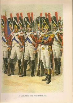 Granatieri del 2 rgt. fanteria della confederazione elvetica