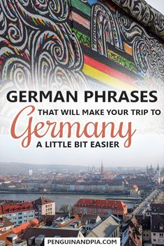 Learning a few words in the language of the country you are travelling to can be very helpful. This is why we are sharing some German phrases that will make your trip to Germany easier! Click to find out how to to introduce yourself, order a coffee in German and much more! #germanlanguage #languagelearning #germanphrases #germanytravel #europetravel #traveltips #traveladvice #traveleasy