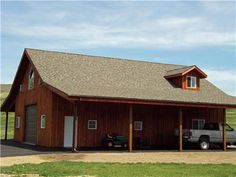 2 Story Steel Building with Shed - shop house | Future Home ...