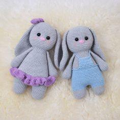 Baby Bunny - Arthur from Crochet Rabbit, Knit Or Crochet, Crochet Gifts, Crochet For Kids, Crochet Toys, Baby Knitting Patterns, Crochet Patterns, Baby Bunnies, Bunny