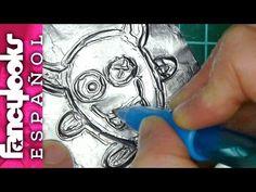¿Se puede repujar papel de aluminio de los bocadillos?-Experimento - YouTube